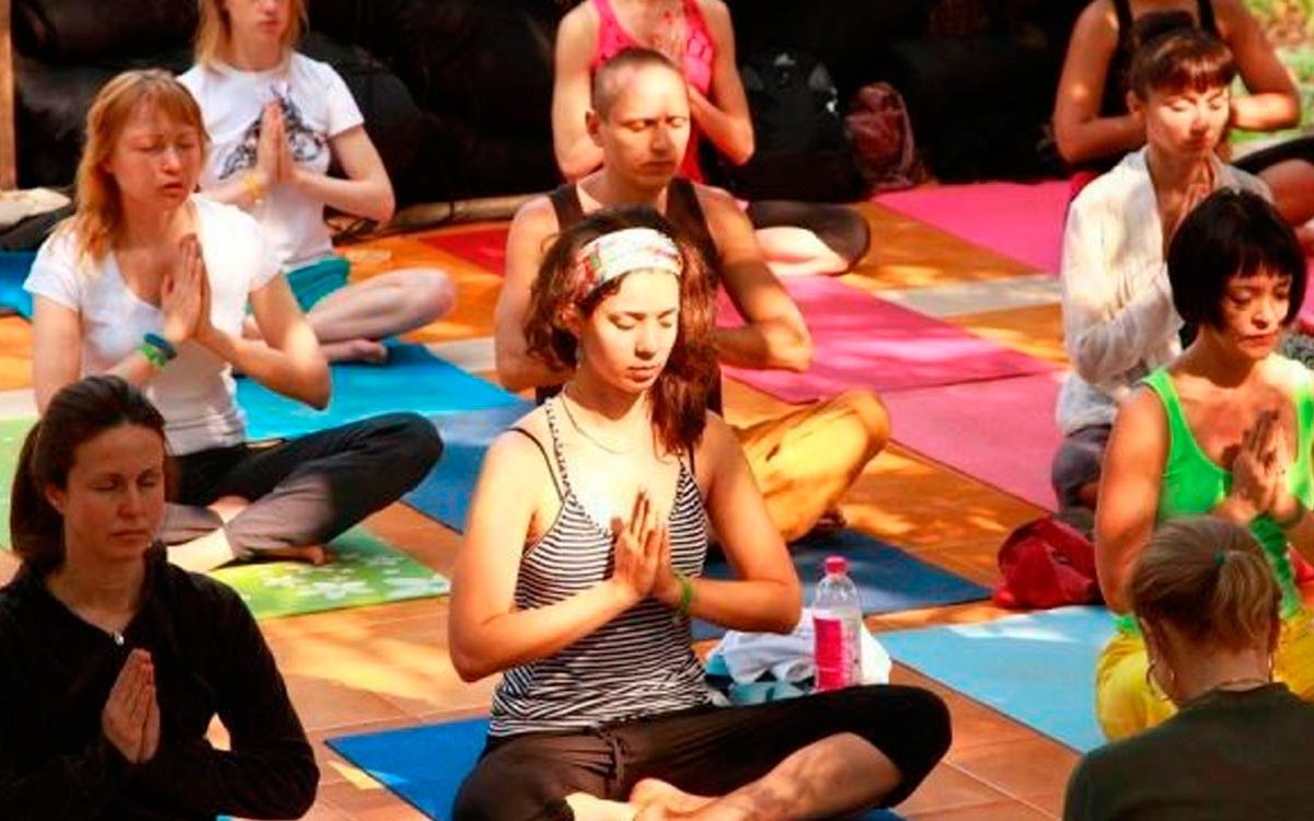 Yogafestival in Goa, January 13-20, 2014