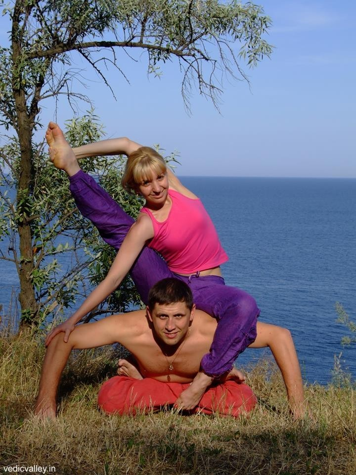 Yury and Natasha Shvets