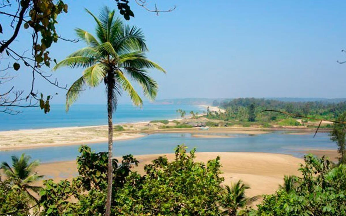 Golden beaches of Morjim