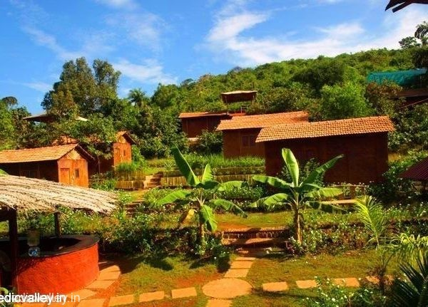 Unterkunft in Vedic Valley: Eco-Bungalows, Goa