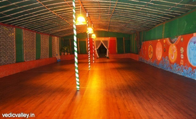 Eco accommodation in Vedic Valley, Goa