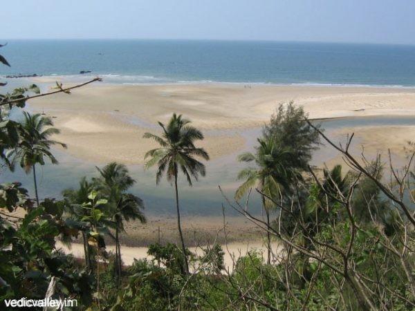 Meerblick von Vedic Valley